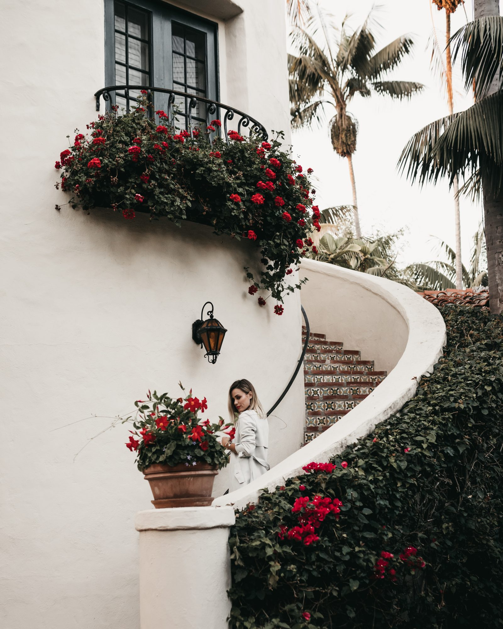 Houston blogger Uptown with Elly Brown visits the Four Seasons property in Santa Barbara, CA