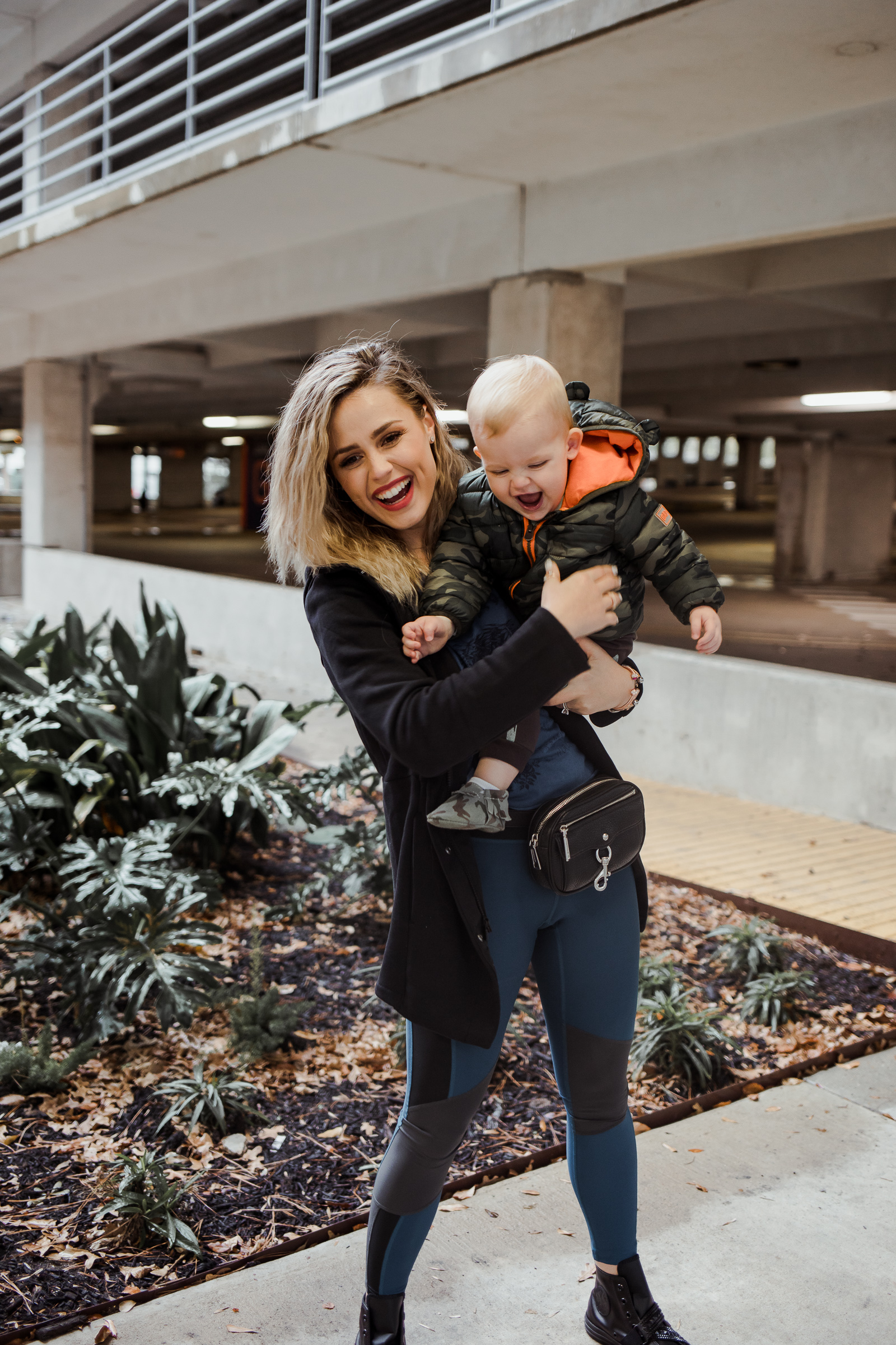 Are you a mom looking for a comfy yet stylish Momiform? Houston fashion blogger Uptown with Elly Brown shares how to elevate your momiform!