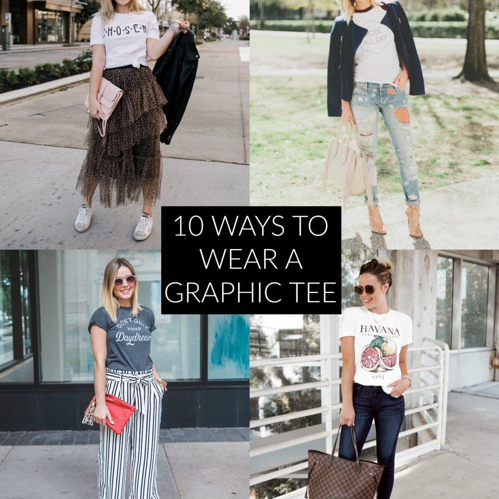 10 Ways to Wear Graphic Tees