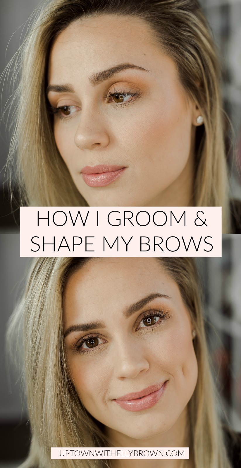 Looking for an easy tutorial on How To Do Your Eyebrows?! Houston beauty blogger Uptown with Elly Brown shares how she does hers!
