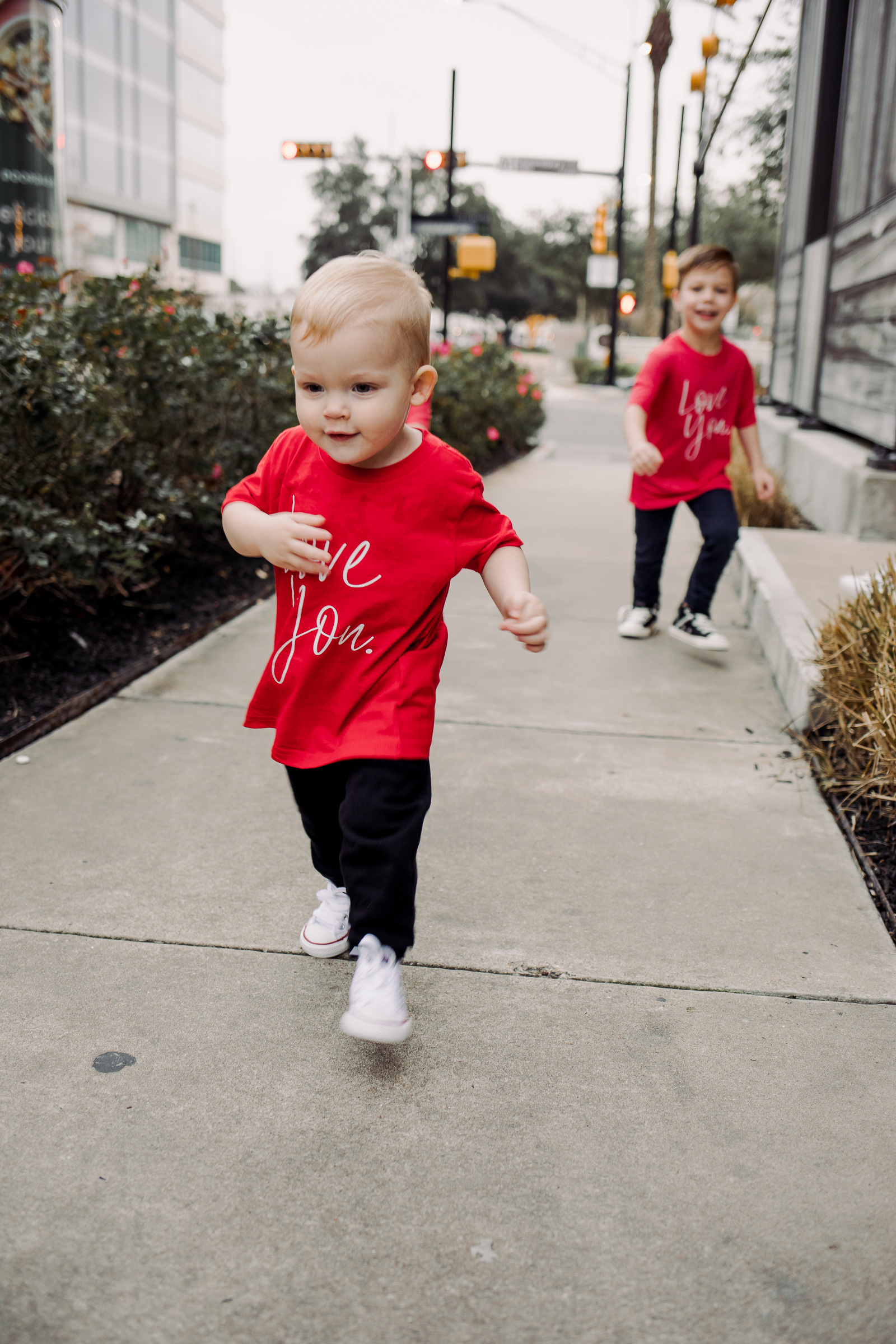 Looking for ideas on Mom and Son Matching Outfits? Houston fashion blogger Uptown with Elly Brown shares the bullet proof way to match with your boys!