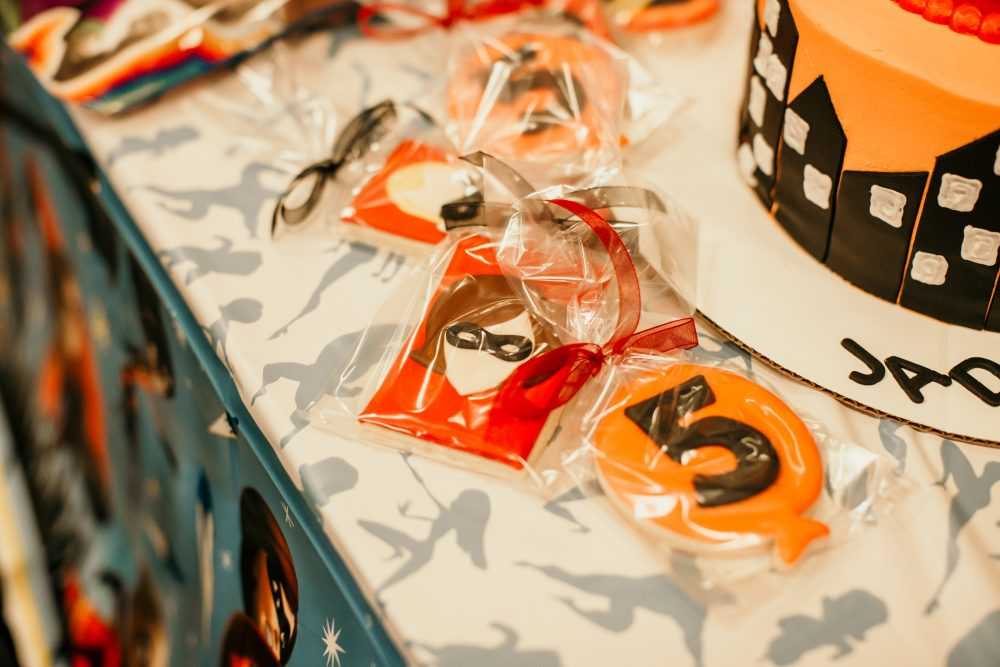Houston blogger Elly Brown shares her Incredibles 2 Birthday theme and Incredibles 2 sugar cookies
