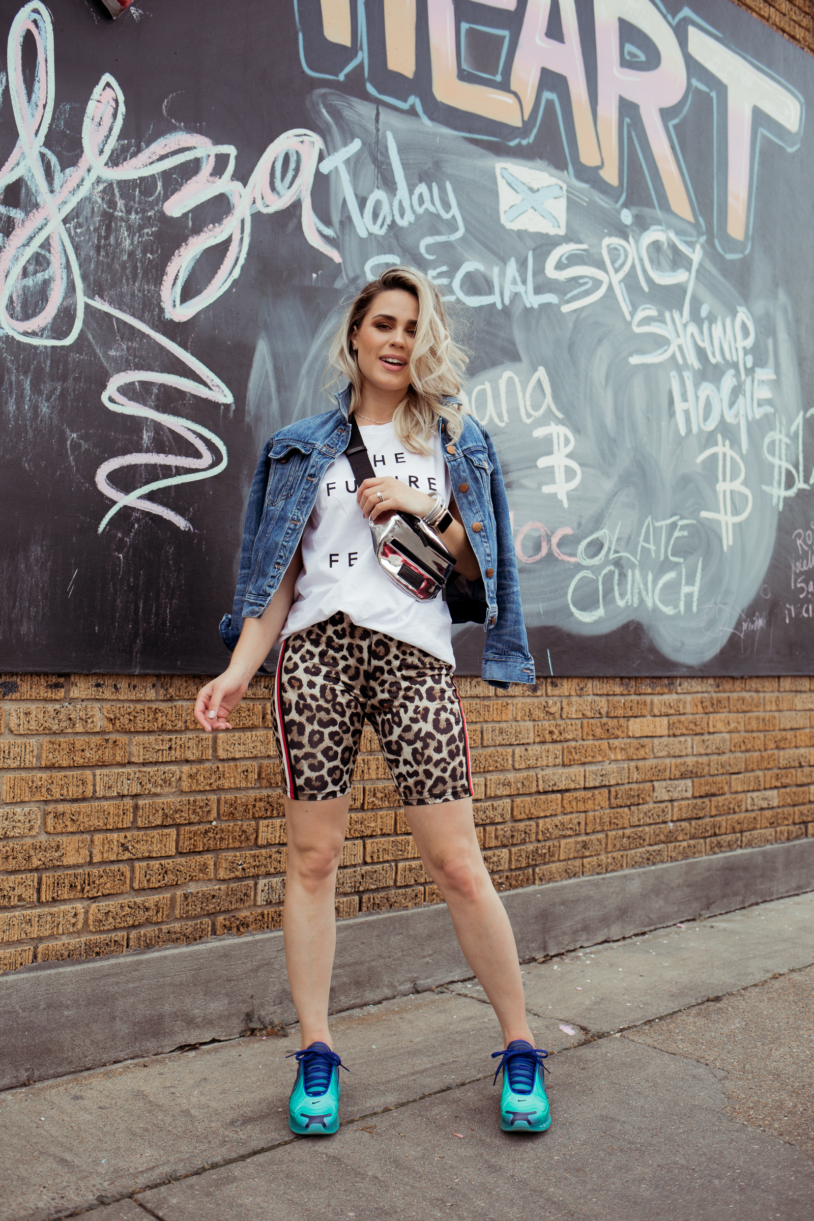 Houston fashion blogger Uptown with Elly Brown talks more about the Sneaker Trend and how to wear them this season