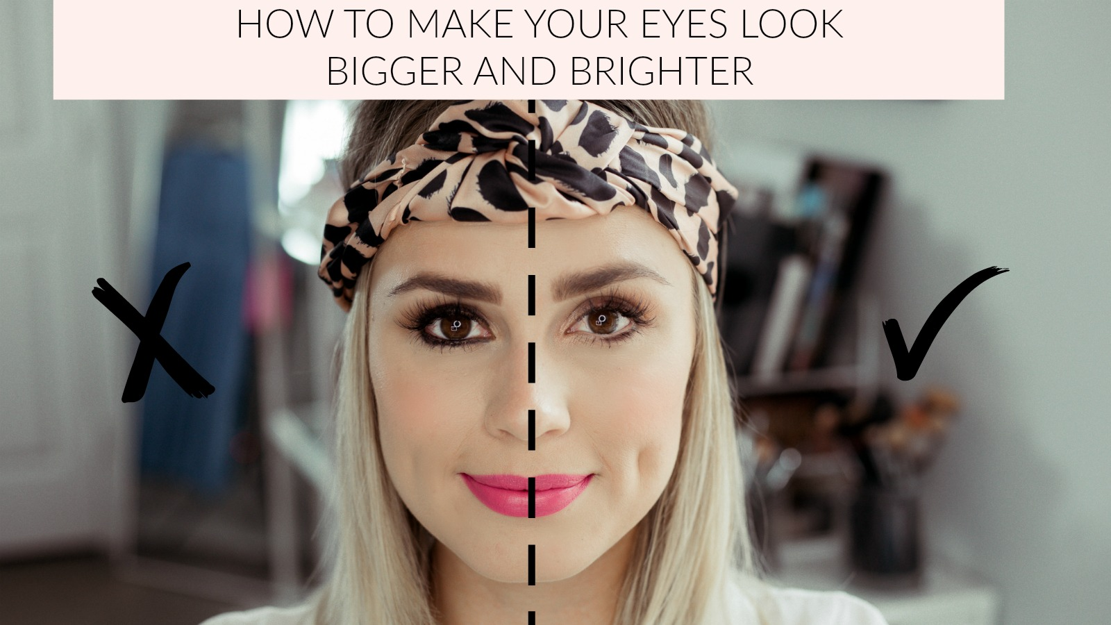 Houston beauty blogger Uptown with Elly Brown shares a few easy and simple tricks on How To Make Your Eyes Look Bigger and brighter. See more here!