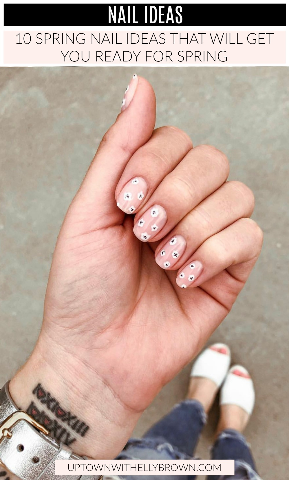 Looking for Spring Nail Ideas? Houston lifestyle blogger shares her top 10 Spring Nail Ideas that will get you ready for Spring!