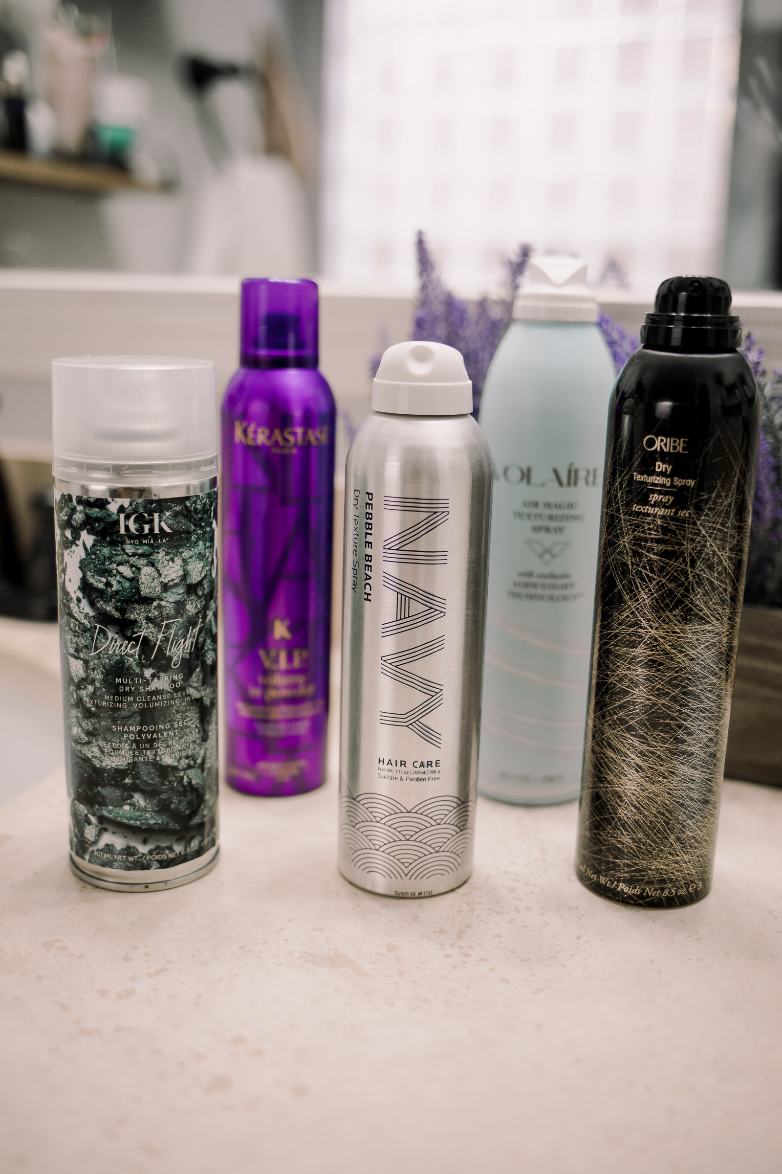 Houston beauty blogger Uptown with Elly Brown shares her TOP 5 Hair Texture Sprays and why she loves each one of them.