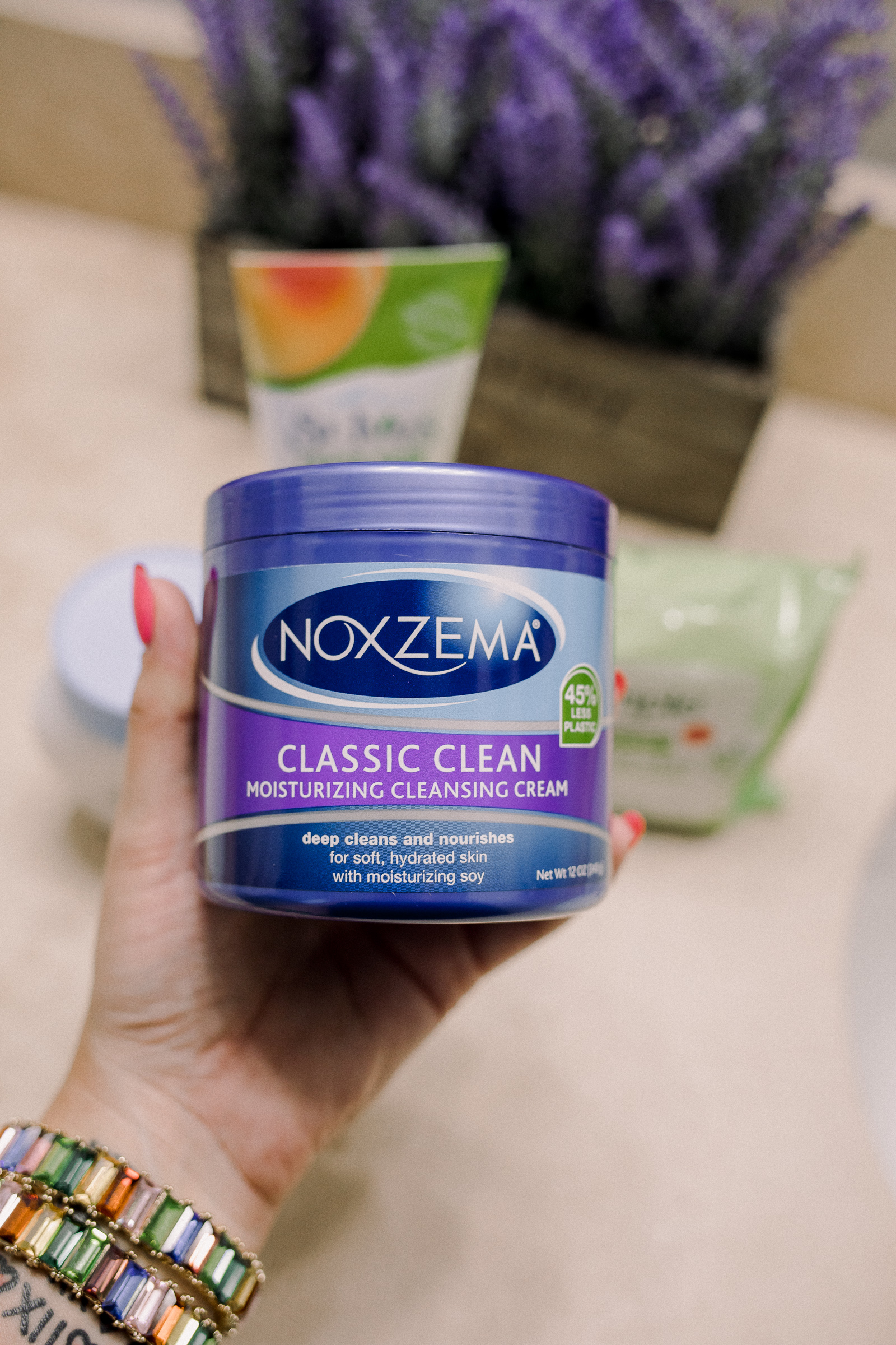 Houston beauty blogger Uptown with Elly Brown shares her review on the Noxzema Classic clean cleanser