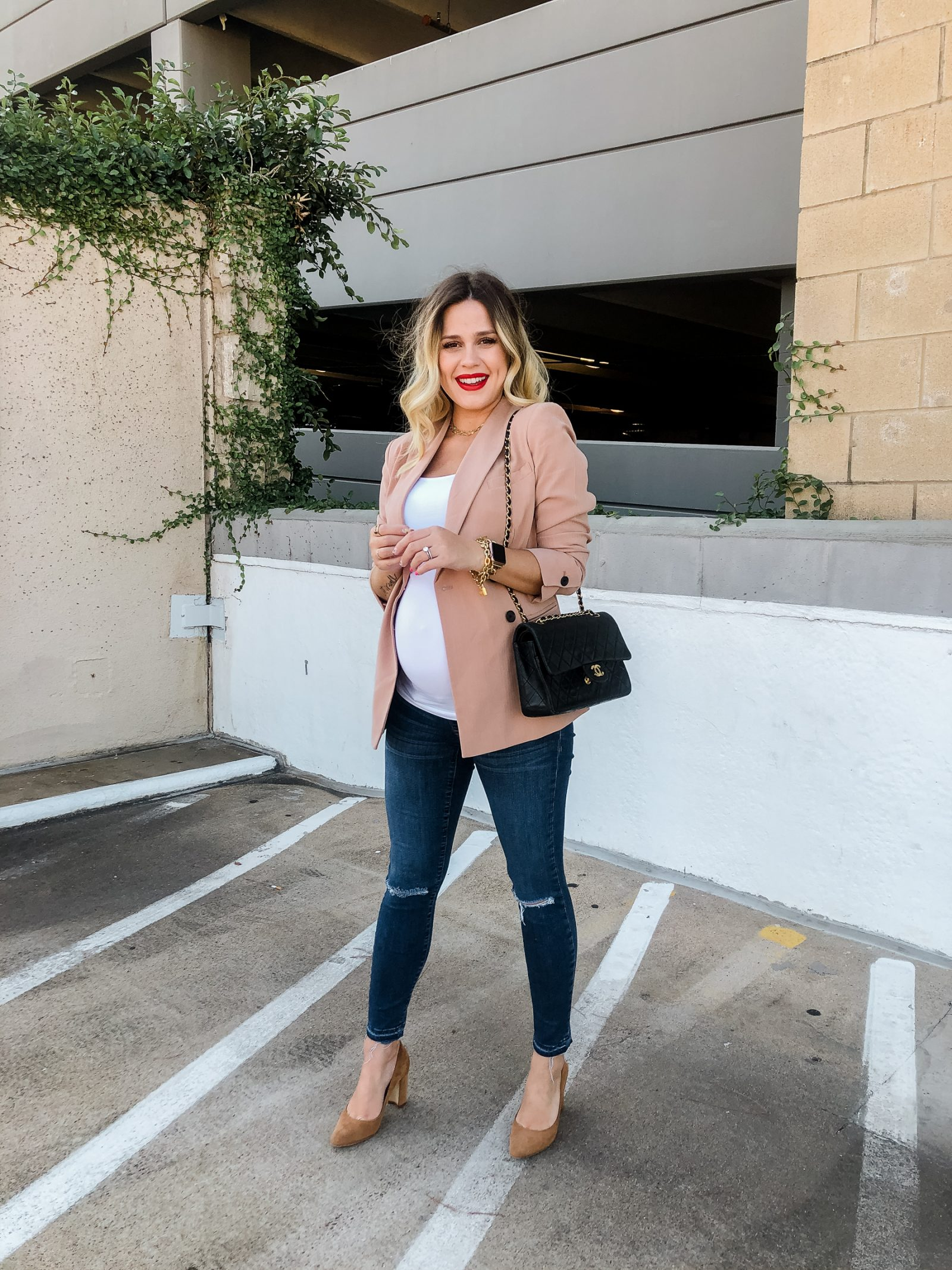 Houston fashion blogger Uptown with Elly Brown shares the Maternity Closet Staples you need and that will get you through your entire pregnancy!