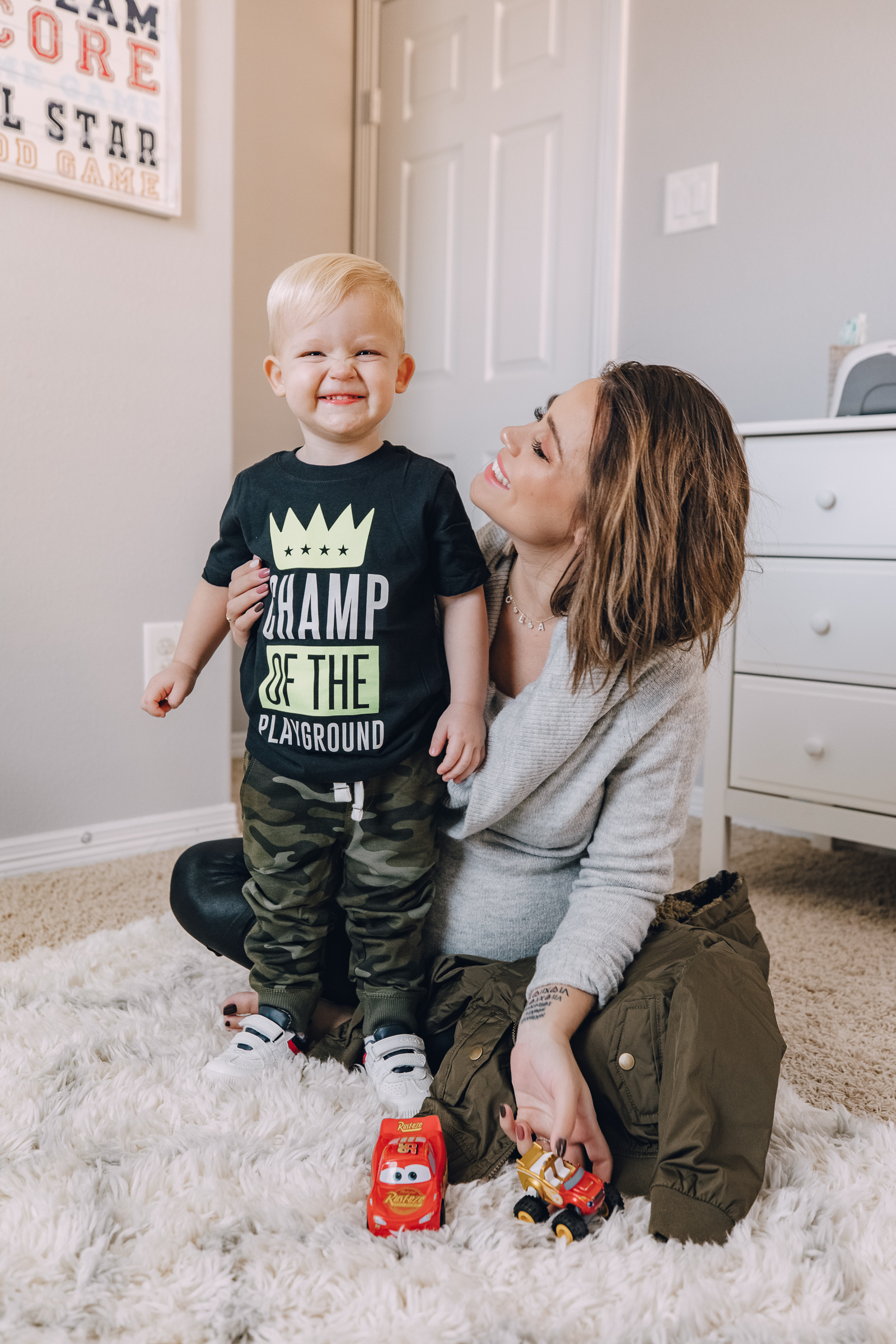 lifestyle blogger Elly Brown shares where she buys toddler clothes for her kids at great prices!