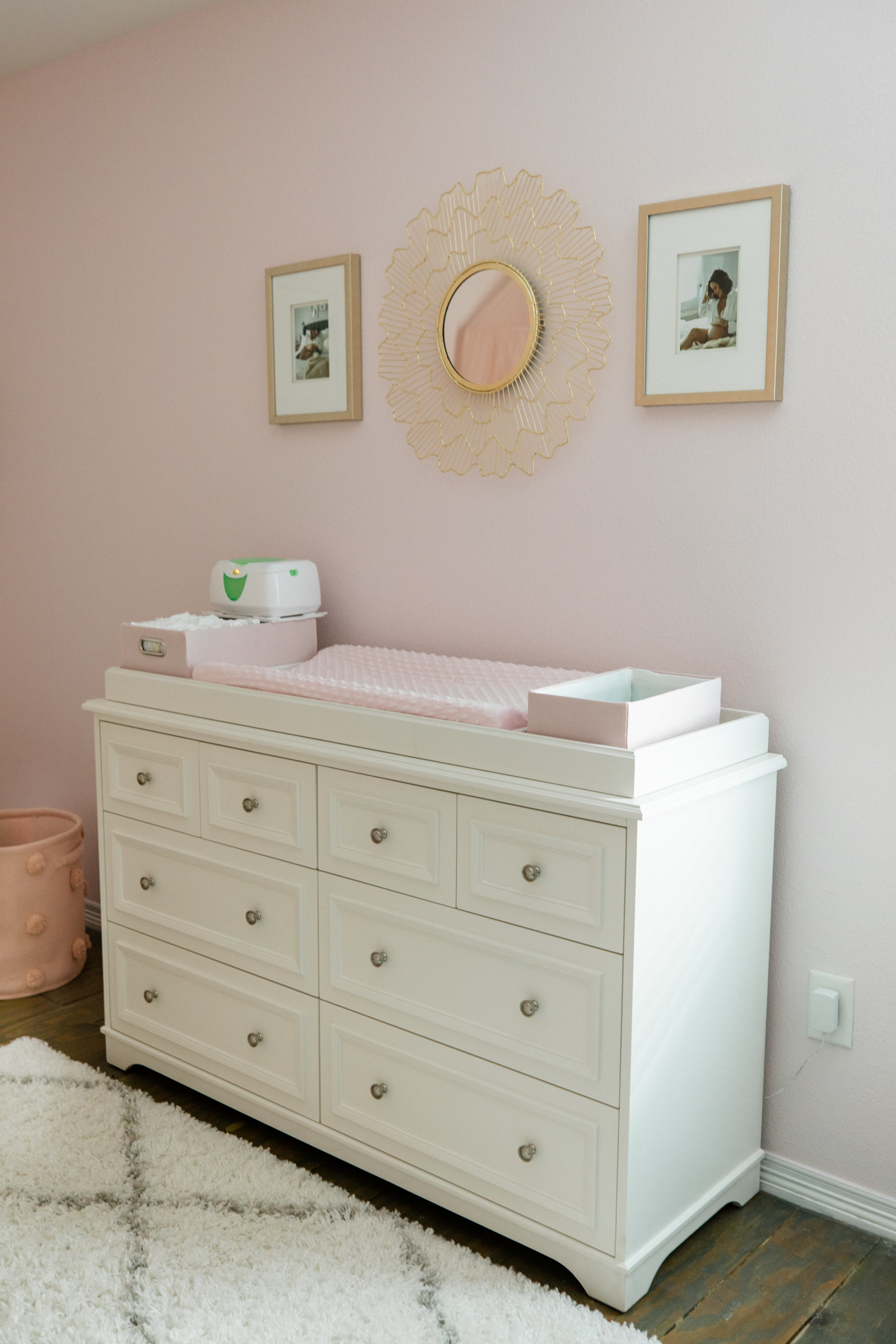 Houston lifestyle blogger Elly Brown shares why she chose the Filmore extra wide dresser