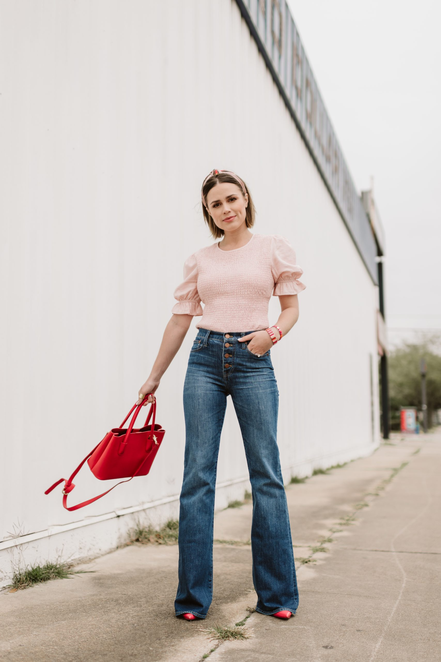 Are you loving the Statement Sleeve Trend? Houston Fashion blogger Elly Brown shares over 20 Statement Sleeve Tops under $75!