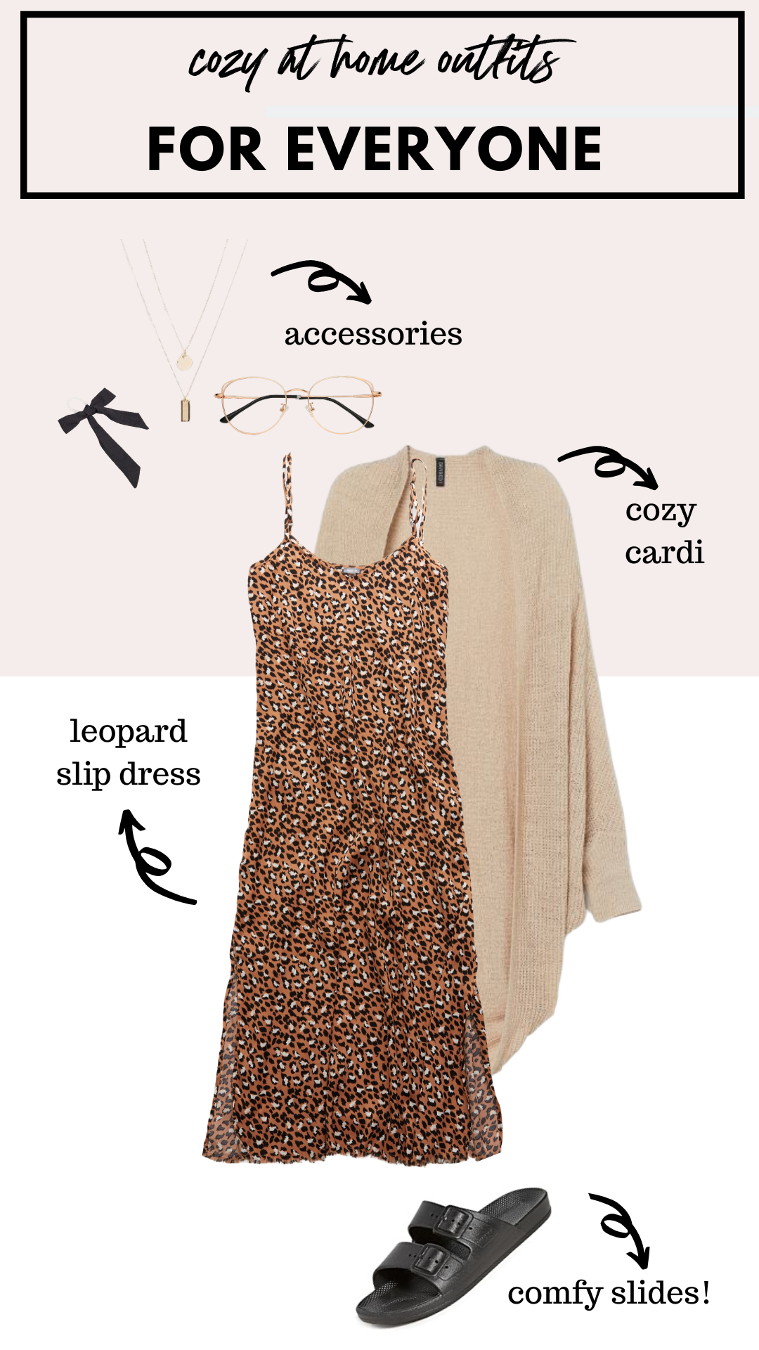 how to wear a leopard slip dress at home