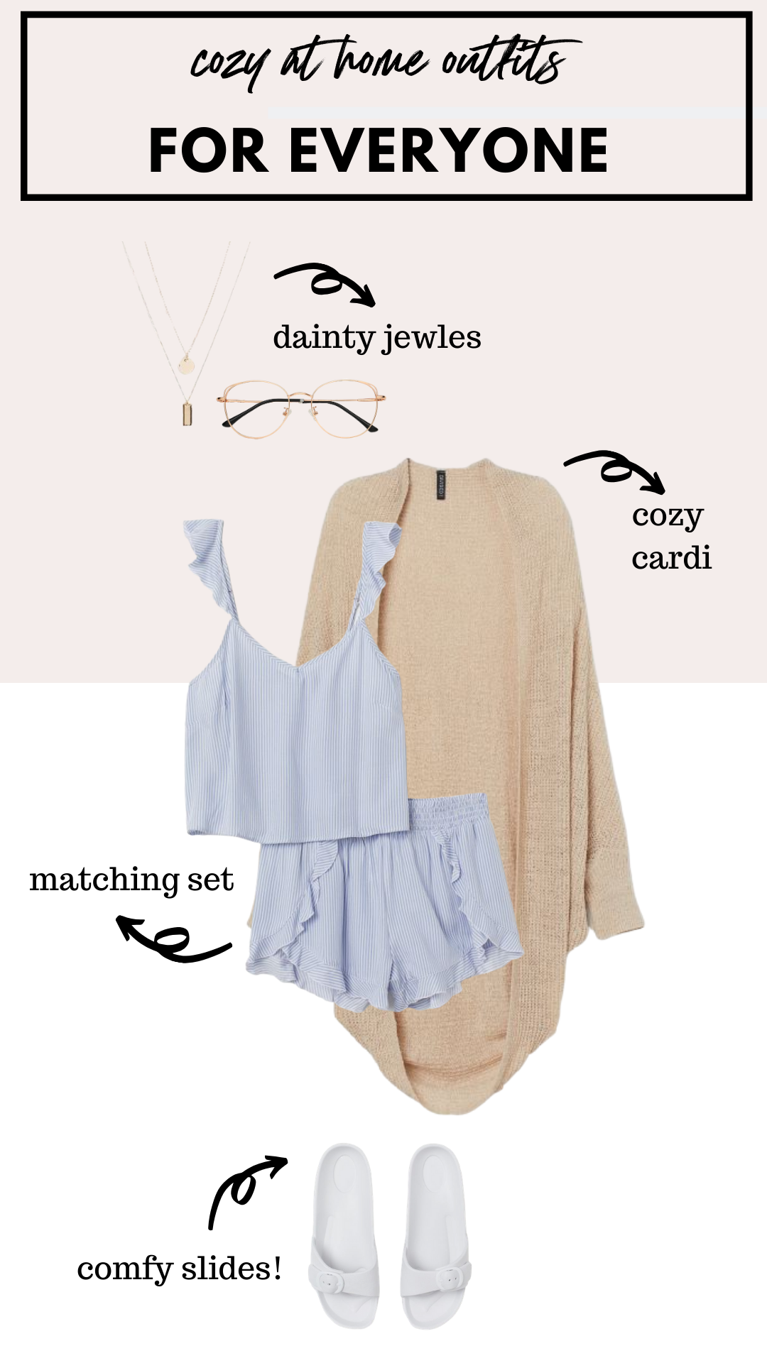how to wear a ruffle matching pajama set at home