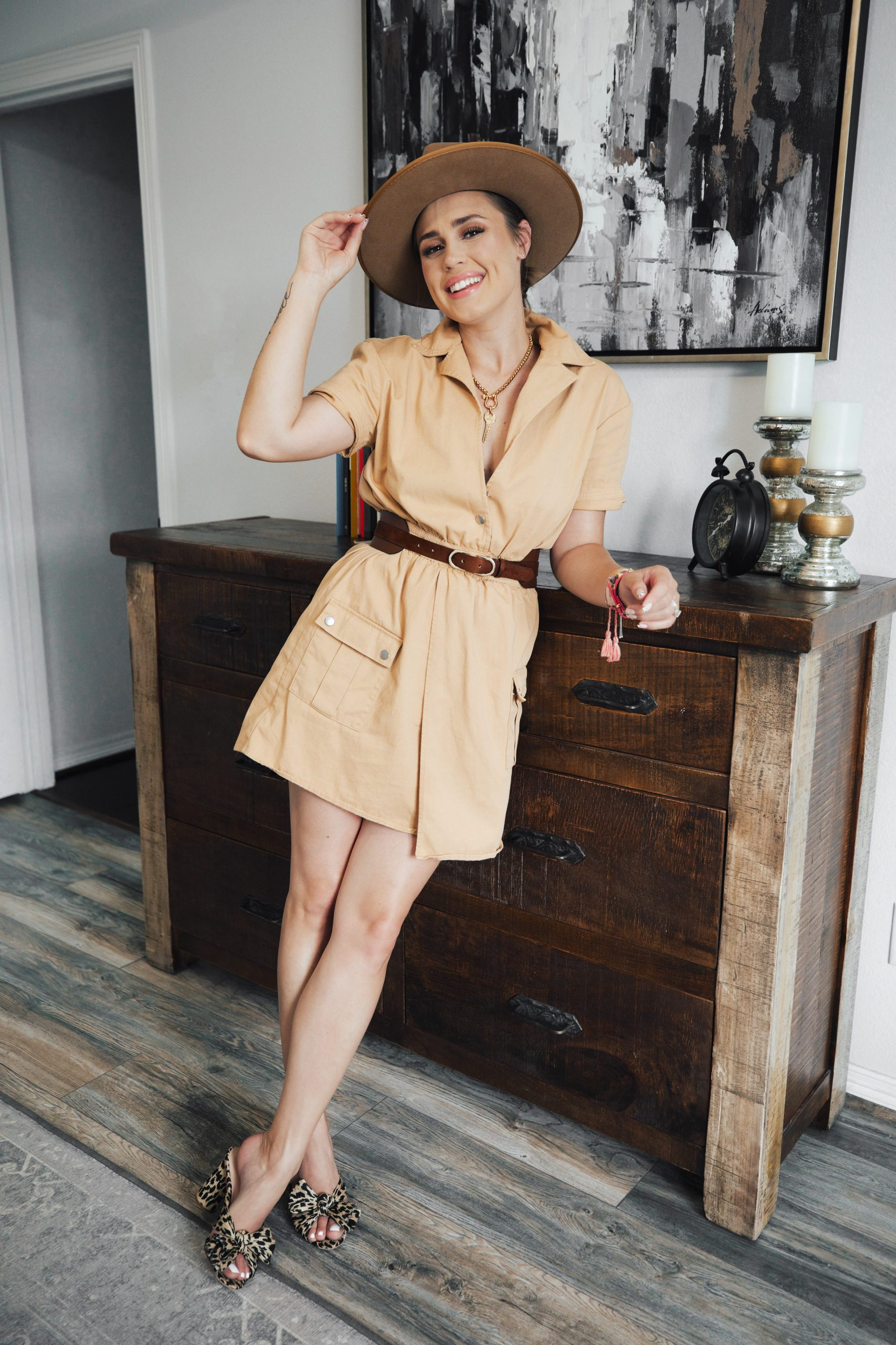 Do you think the Utility Dress Trend is HOT or NOT? Fashion blogger Elly Brown shares over 25 utility dresses for ANY budget.