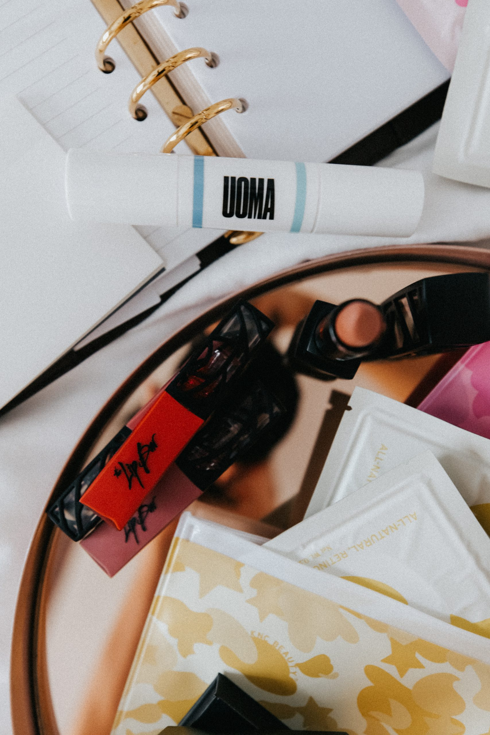 Black owned makeup brands, Uoma and Lip Bar