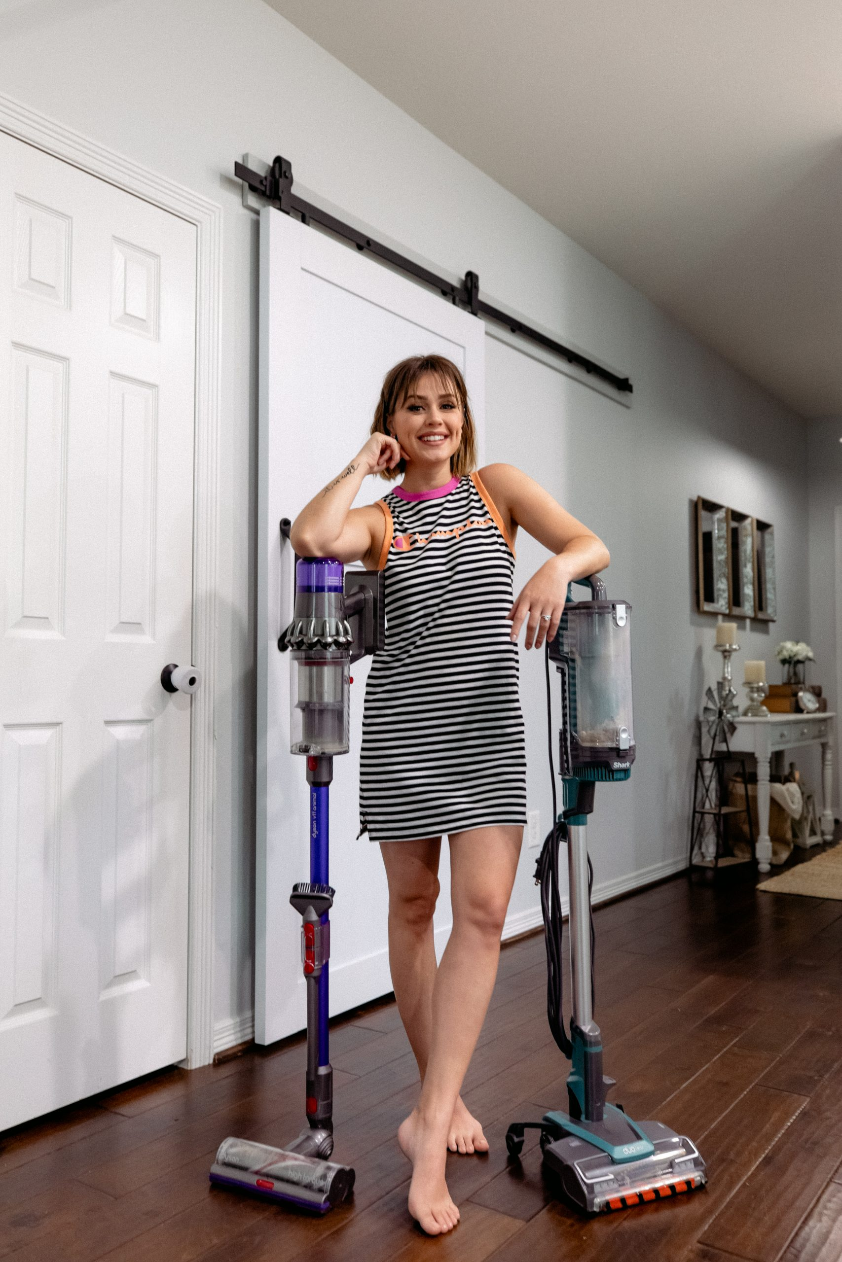 Looking to upgrade your vacuum? Dyson vs. Shark Vacuum, which one is better and worth the investment? Elly Brown shares her review on both!