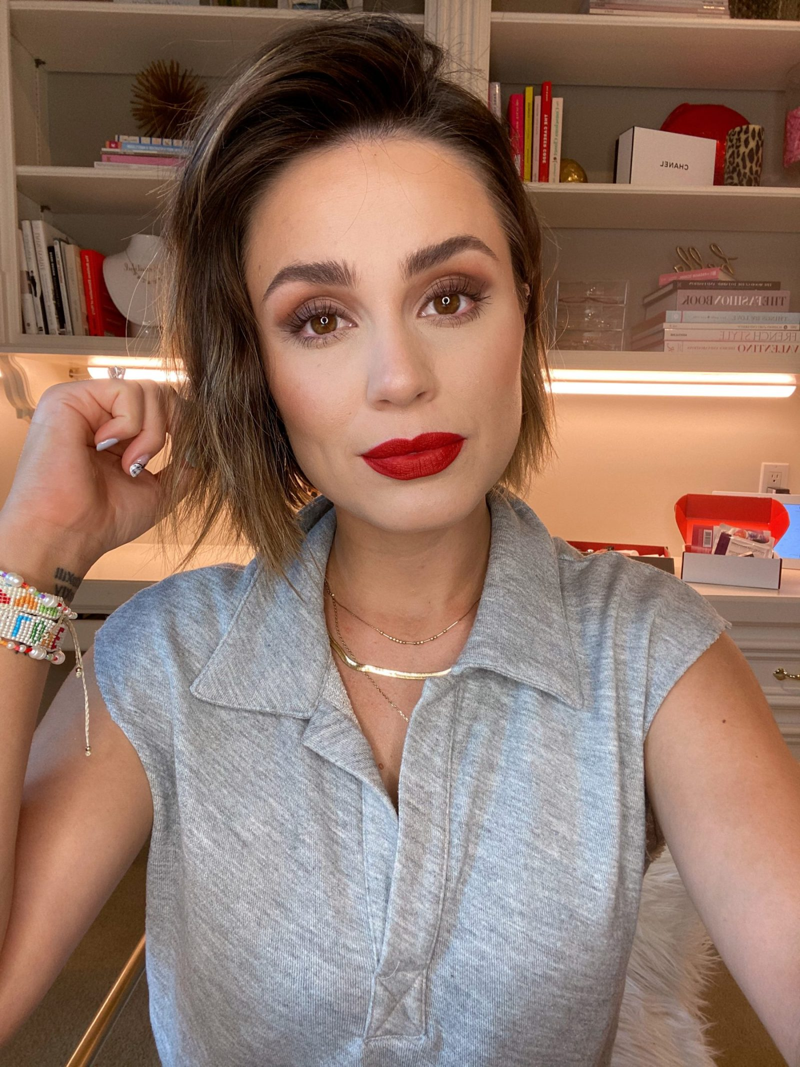 Fall Drugstore Lipsticks Pixi Beauty in Real Red