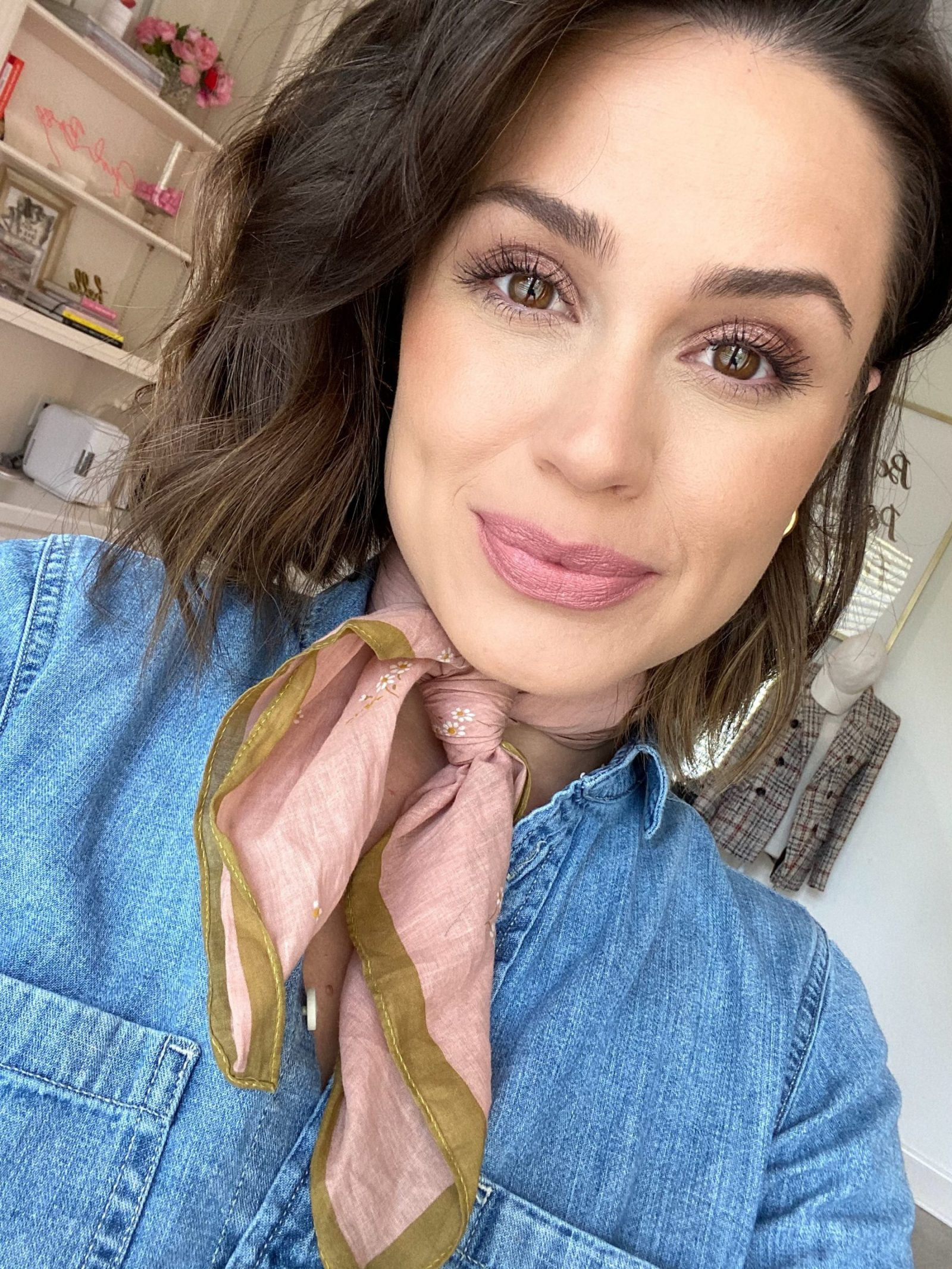 Elly Brown wears VIVA GLAM II Nude Lipstick from M.A.C