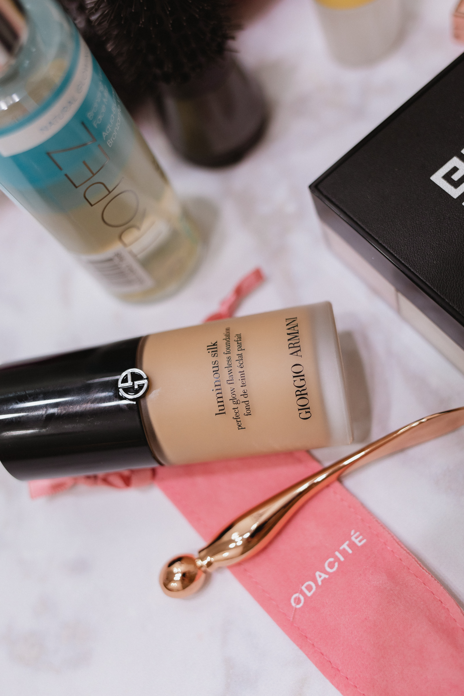 Elly Brown shares her favorite Summer beauty products from Nordstrom including the Giorgio Armani Luminous Silk foundation